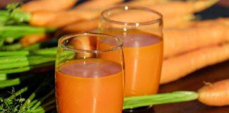 sok jabłko marchew